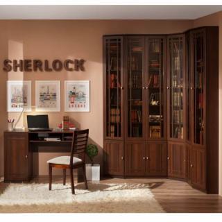 Библиотека Sherlock (Орех шоколадный)