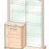 Стол туалетный трансформер Джустин