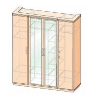 Шкаф 4-х дверный  Эстер
