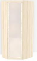 Шкаф угловой с зеркалом Н7 Ника