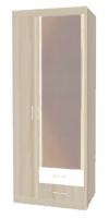 Шкаф для одежды Н10з с зеркалом Ника