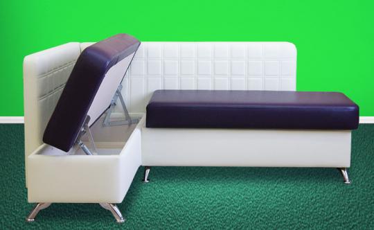 Кухонный угловой диван Фреш с ящиками-1