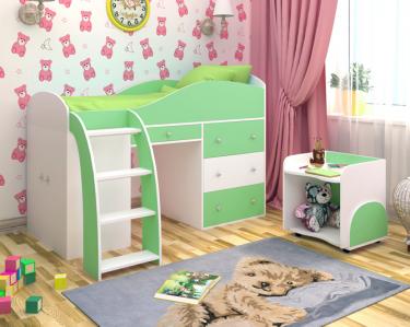 Кровать-чердак Малыш 2