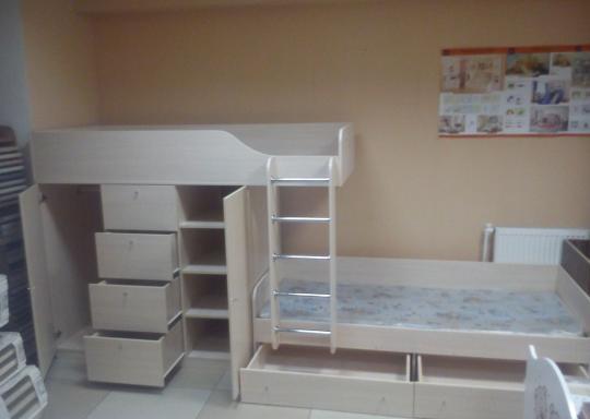 Двухъярусная кровать Астра 6-5