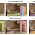 Двухъярусная кровать Астра 6-1