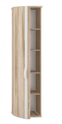 Шкаф-окончание с гнутой дверью левый Марта ЛД 636.080