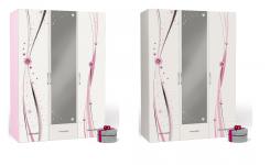 Шкаф 3-х дверный Princess с зеркалом