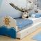 Кровать классика OC-1002-160/OC-1002-190 Okean без ящика (Размер спального места - 900х1600 мм. )