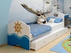 Кровать классика OC-1002-160/OC-1002-190 Okean без ящика