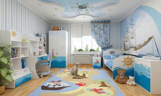 Мебель для детской Ocean -1
