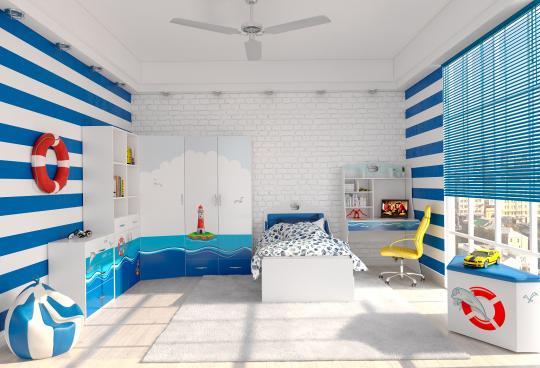 Мебель для детской Ocean -3