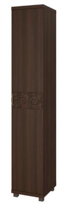 Шкаф-пенал для белья (1 дверь) 12 Ирис