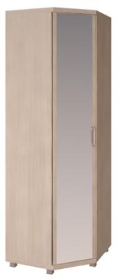 Шкаф угловой с зеркалом 27 Ирис-1