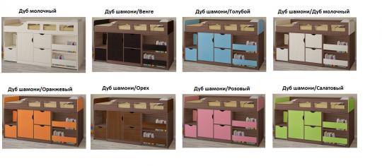 Кровать-чердак Астра 8-2