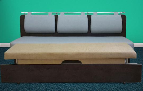 Кухонный диван Сюрприз со спальным местом-1