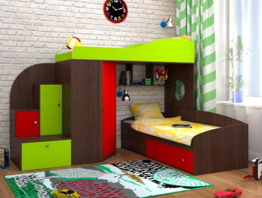 Кровать-чердак Кадет 2-1