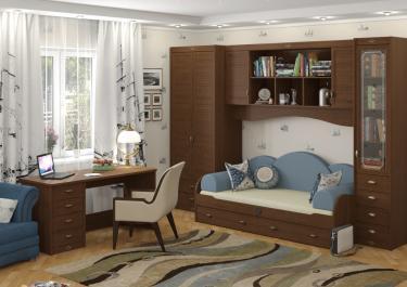 Подростковая комната Корвет вариант №1