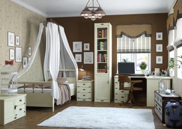 Подростковая комната Корвет вариант №12