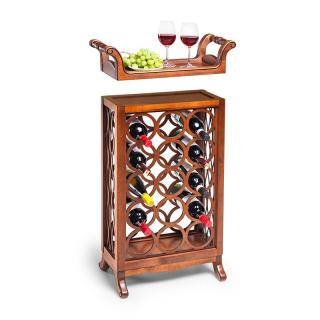 Подставка винная со съемным подносом арт. 125