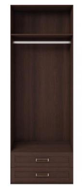 Шкаф для одежды 2-х дв. с ящиками (с зеркалом, без полок) Скандинавия 01-1