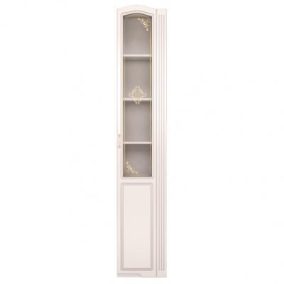 Шкаф-пенал (правый, со стеклом) Виктория 32