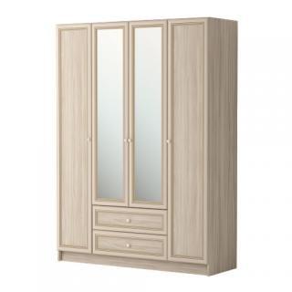 Шкаф комбинированный 4-х дверный (с зеркалом) Брайтон 25