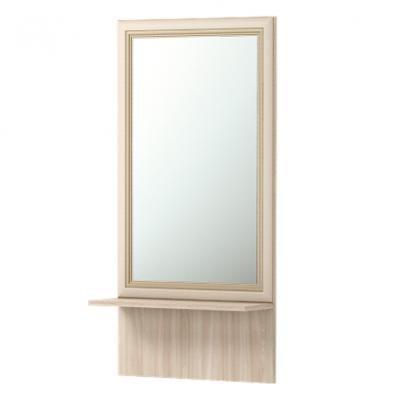 Зеркало настенное с полкойБрайтон 21