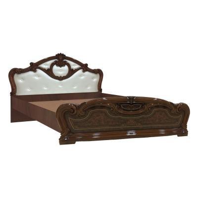 Кровать 1600 с мягкой спинкой 637.150.650.180 Гранада (без основание, без матраса)