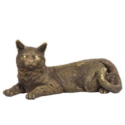 Статуэтка Кошка лежащая