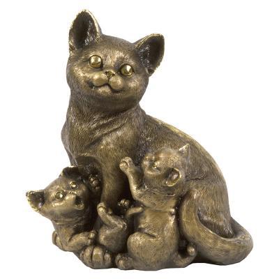 Статуэтка Кошка с котятами