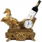Часы - подставка под бутылку Колесница Гранд