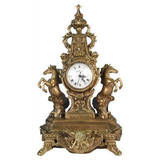 Часы Дворцовые с лошадьми Гранд