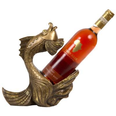 Подставка под бутылку Золотая рыбка