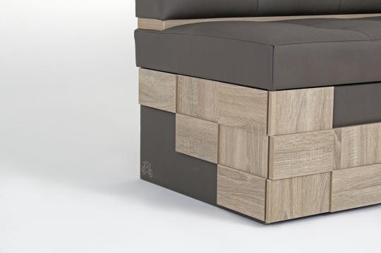 Кухонный угловой диван Редвиг-5