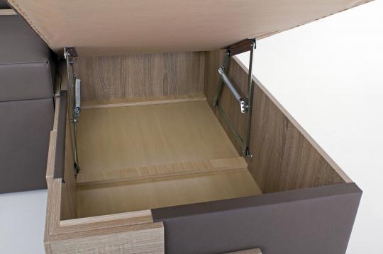 Кухонный угловой диван Редвиг-7