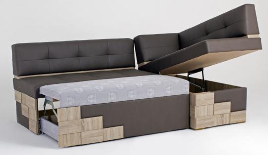 Кухонный угловой диван Редвиг-4