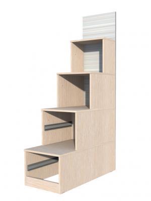 Лестница с ящиками НМ 009.07-01-1