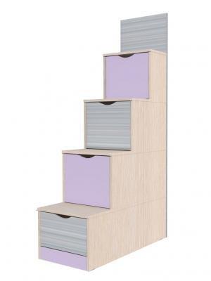Лестница с ящиками НМ 009.07-01