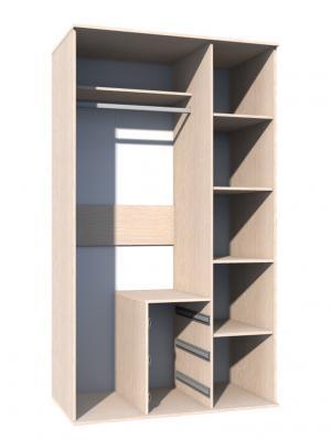 Шкаф комбинированный НМ 009.03-1