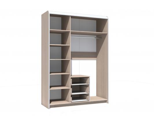 Шкаф комбинированный Виктория НМ 014.68-1