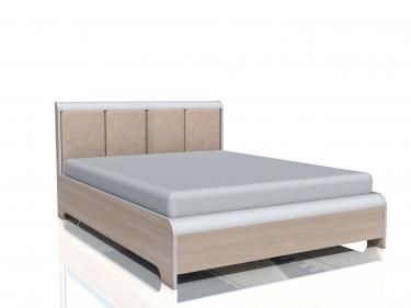 Кровать Виктория (с основанием, без матраса) НМ 014.39