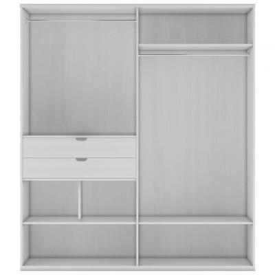 Шкаф 4-х дверный (корпус) СП.0110.404-1