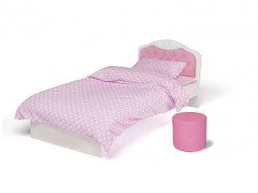 Кровать классика Princess №1 PR-1004-160/PR-1004-190 со стразами Сваровски, без ящика