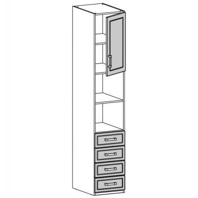 Шкаф одностворчатый (18.201.01)-1
