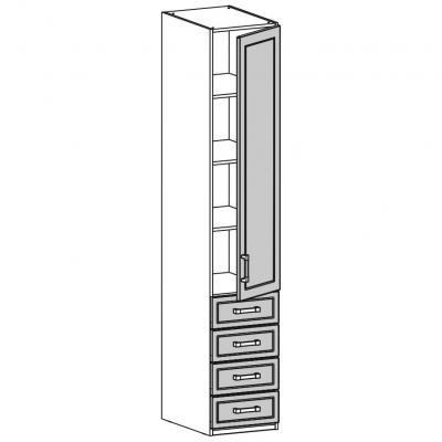 Шкаф одностворчатый (18.201.03)-1
