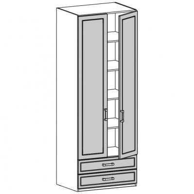 Шкаф двустворчатый (18.202.04)-1
