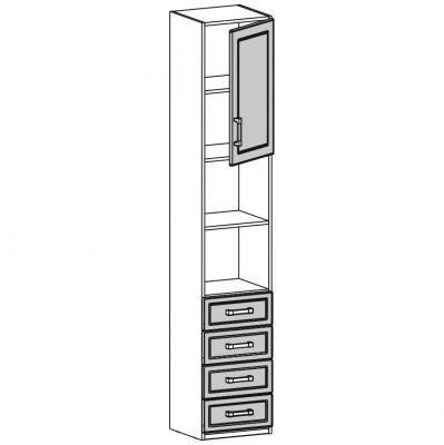 Шкаф одностворчатый (18.211.01)-1