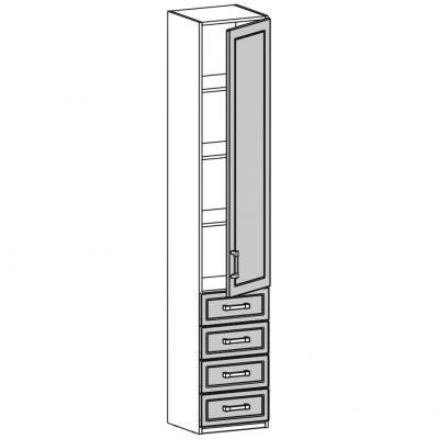 Шкаф одностворчатый (18.211.03)-1