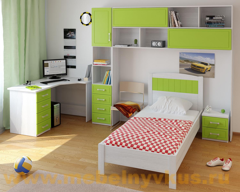 Купить детскую готовая детская комната teen`s home 15 - teen.