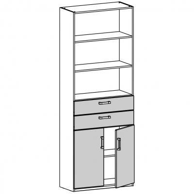 Шкаф-стеллаж (17.212.09)-1